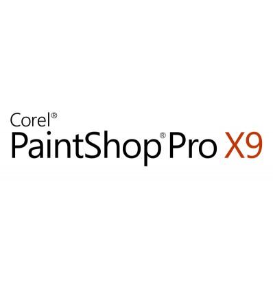 Corel PaintShop Pro X9 Corporate Edition License (5-50) Saksa, Hollanti, Englanti, Espanja, Ranska,