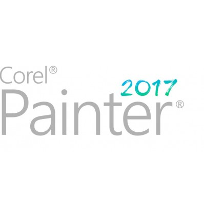 Corel Painter 2017 Upgrade License (5-50) Saksa, Englanti, Ranska