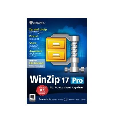 Corel WinZip 17 Pro, EDU, 1Y, 25000-49999U, ML Monikielinen