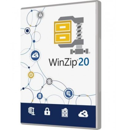 Corel WinZip 20 Standard, EDU, ML, 100-199U Monikielinen