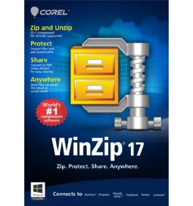 Corel WinZip 17 Standard, EDU Maint, 1Y, 200-499u, ML Monikielinen