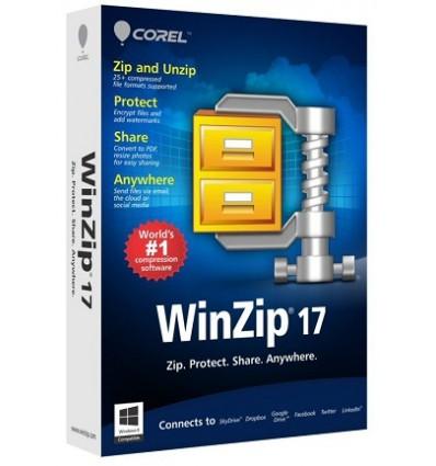 Corel WinZip 17, 1Y, 5000 - 9999U, EDU