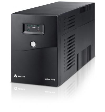 Vertiv Liebert ItON 2000VA UPS-virtalähde Linjainteraktiivinen 1200 W 6 AC-pistorasia(a)