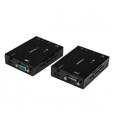 StarTech.com ST121HDBTL AV-signaalin jatkaja AV-lähetin ja -vastaanotin Musta
