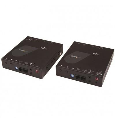StarTech.com ST12MHDLAN4K AV-signaalin jatkaja AV-lähetin ja -vastaanotin Musta