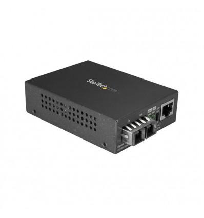 StarTech.com MCMGBSCSM10 verkon mediamuunnin 1000 Mbit/s 1310 nm Yksittäistila Musta