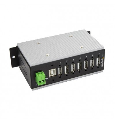 StarTech.com HB20A7AME USB 2.0 Type-B 480Mbit/s Musta keskitin