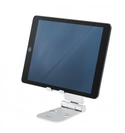 StarTech.com USPTLSTND multimedialaitteiden kärry ja teline Multimediateline Hopea Tabletti