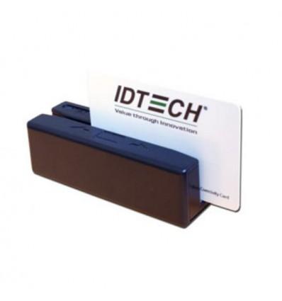 ID TECH SecureMag magneettikortinlukija USB Musta
