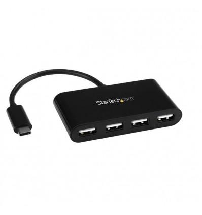 StarTech.com ST4200MINIC 480Mbit/s Musta keskitin