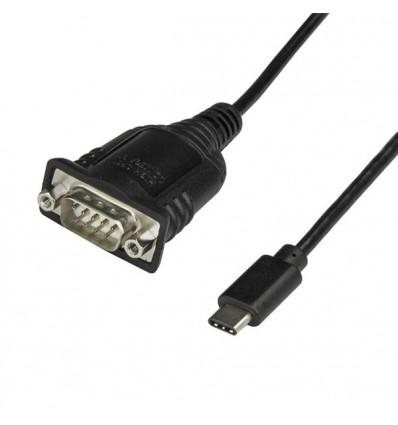 StarTech.com ICUSB232PROC kaapeli liitäntä / adapteri USB C DB-9 Musta