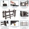 "StarTech.com VIDWALLMNT litteiden näyttöjen seinäkiinnike 177,8 cm (70"") Musta"