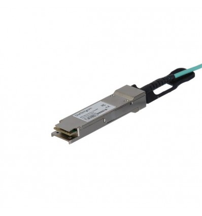 StarTech.com QSFP40GAO10M valokuitukaapeli 10 m QSFP+ Musta