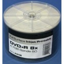Ritek DVD+R 16x Inkjet White Printable