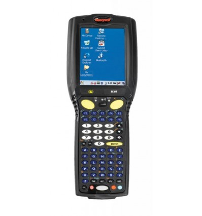 """Honeywell MX9A mobiilitietokone 9,4 cm (3.7"""") 240 x 320 pikseliä Kosketusnäyttö 5,49 kg Musta"""