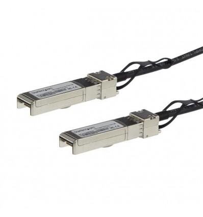 StarTech.com SFPH10GBCU15 1.5m Musta verkkokaapeli