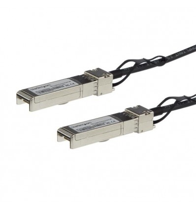 StarTech.com SFPH10GBCU25 2.5m Musta verkkokaapeli
