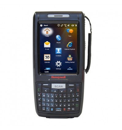 """Honeywell DOLPHIN 7800 mobiilitietokone 8,89 cm (3.5"""") Kosketusnäyttö 324 g Musta"""
