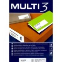MULTI3 Labels A4-etikettitarra 105-37mm