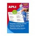 APLI Labels 70x42,4mm A4-etikettitarra