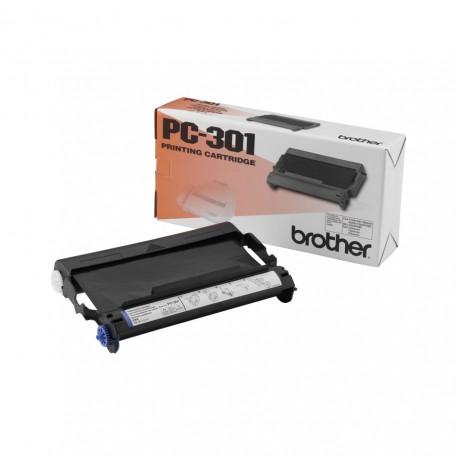 Brother PC-301 faksitarvike 235 sivua Musta Faksin patruuna + nauha 1 kpl