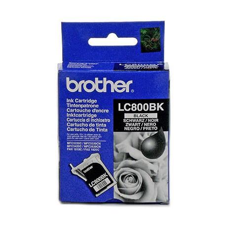 Brother LC-800BK mustekasetti Alkuperäinen Musta