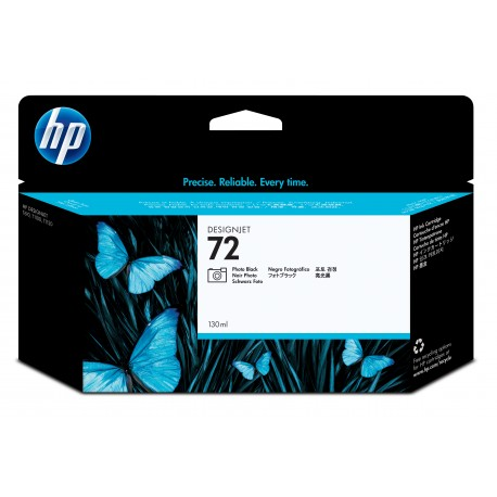 HP 72 Alkuperäinen Valokuva musta 1 kpl