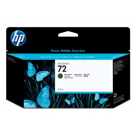 HP 72 Alkuperäinen Mattamusta