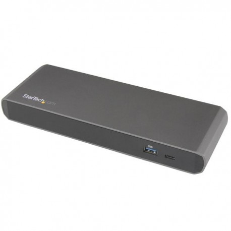 StarTech.com TB3DK2DPPDUE kannettavien tietokoneiden telakka ja porttitoistin USB 3.0 (3.1 Gen 1) Ty