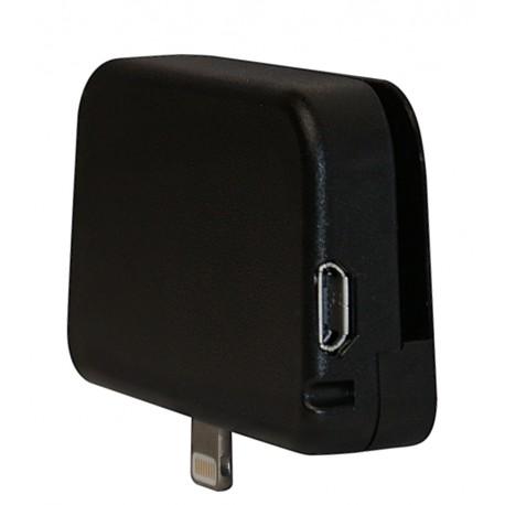 ID TECH iMag Pro II magneettikortinlukija Lightning Musta