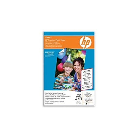 HP Q1991A Premium Photo Paper Glossy - 10x15cm - 10 sheets