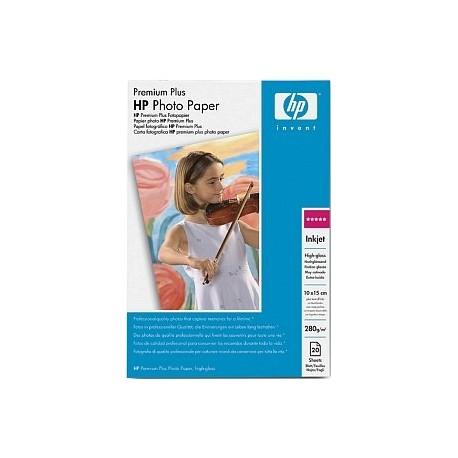 HP Premium Plus High-gloss valokuvapaperi Valkoinen Kiilto
