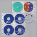 Unikeep 8 CD/DVD muovitasku