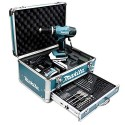 Makita HP457DWEX4 porakone 1400 RPM Musta, Sininen 1,7 kg