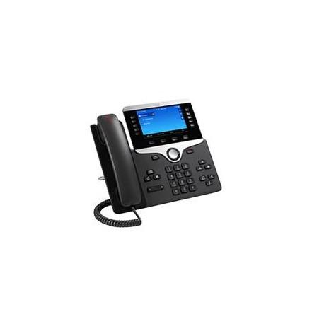 Cisco 8851 IP-puhelin Musta Johdollinen puhelin