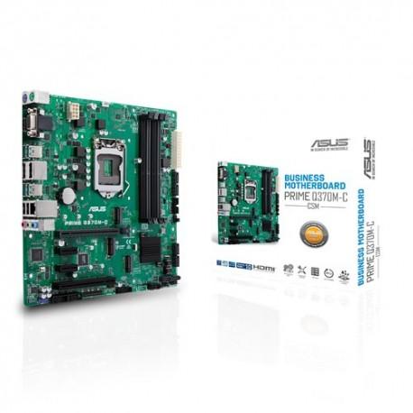ASUS PRIME Q370M-C/CSM emolevy mikro ATX Intel Q370