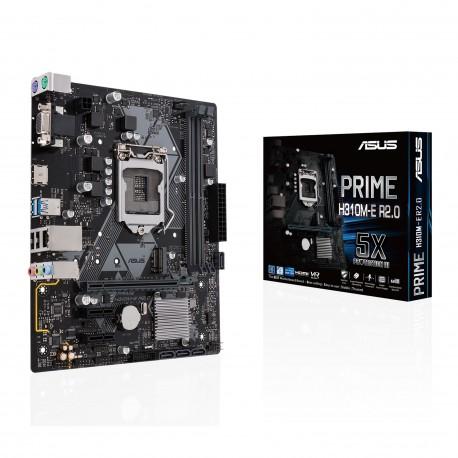 ASUS PRIME H310M-E R2.0 emolevy LGA 1151 (pistoke H4) mikro ATX Intel® H310