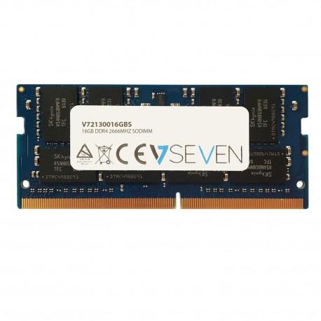 V7 V72130016GBS muistimoduuli 16 GB DDR4 2666 MHz