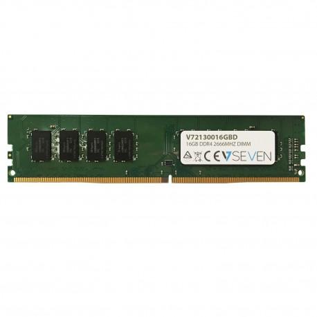 V7 V72130016GBD muistimoduuli 16 GB DDR4 2666 MHz