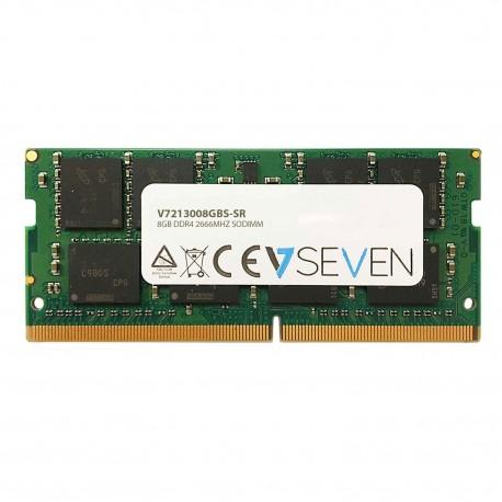 V7 V7213008GBS-SR muistimoduuli 8 GB DDR4 2666 MHz