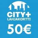 City Plus Lahjakortti 50€