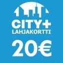 City Plus Lahjakortti 20€