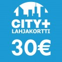 City Plus Lahjakortti 30€