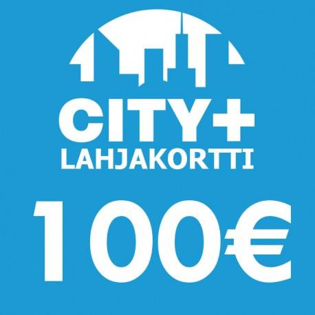 City Plus Lahjakortti 100€