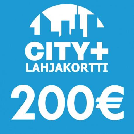 City Plus Lahjakortti 200€