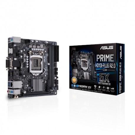 ASUS PRIME H310I-PLUS R2.0/CSM emolevy LGA 1151 (pistoke H4) Mini ITX Intel® H310