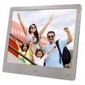 """Hama 00118560 digitaalinen valokuvakehys 20,3 cm (8"""") Hopea"""