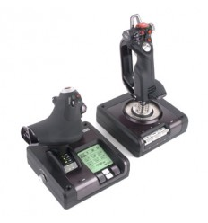 Logitech X52 Pro Flight Control System Lentosimulaattori