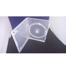AMARAY DVD Single Case Clear