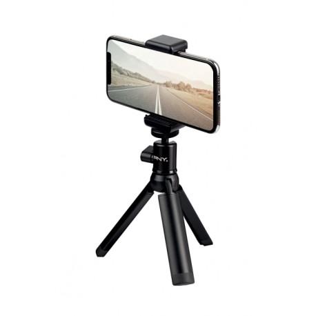 PNY P-T-BTRI001K-RB kolmijalka Älypuhelin/toimintakamera 3 jalkoja Musta